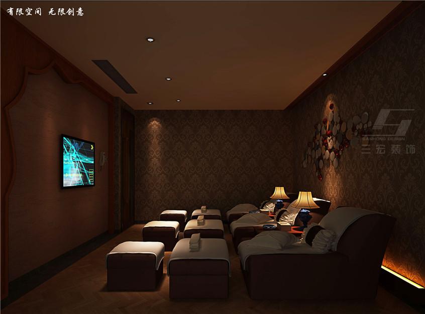 项目面积:2000 风格:东南亚风格   类型:休闲养生会所 设计理念:本