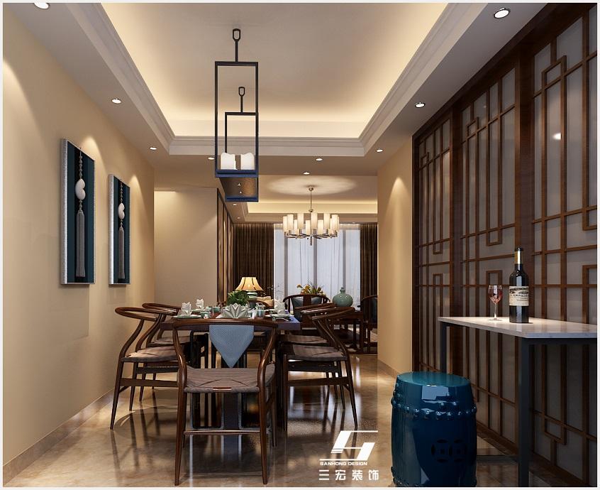 廣州裝修公司|中式風格設計案例|家庭裝修