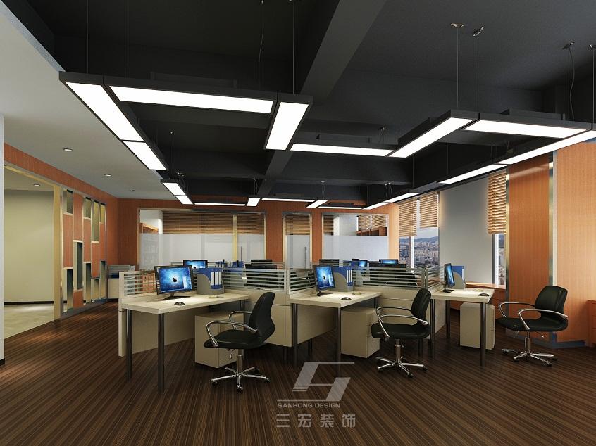 办公室装修设计为公司的主要项目