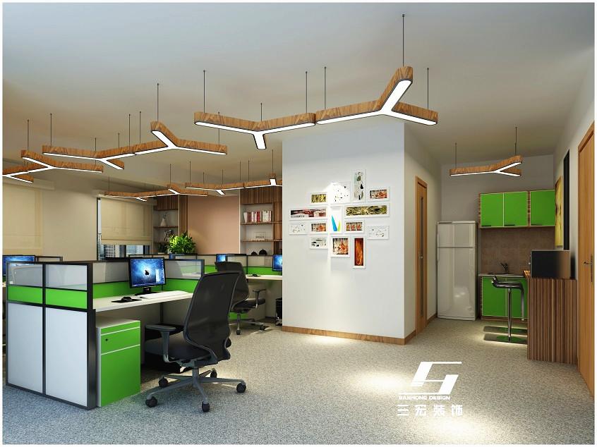 办公室装修财务部设计
