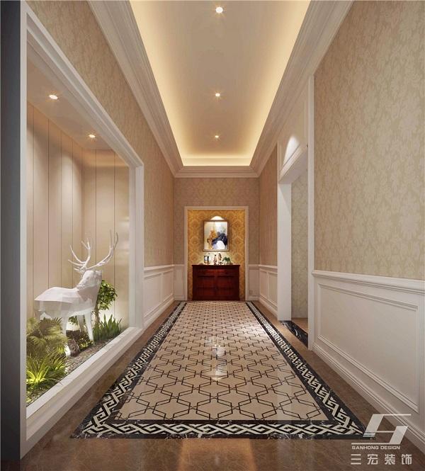 展厅走廊装修设计效果图.jpg