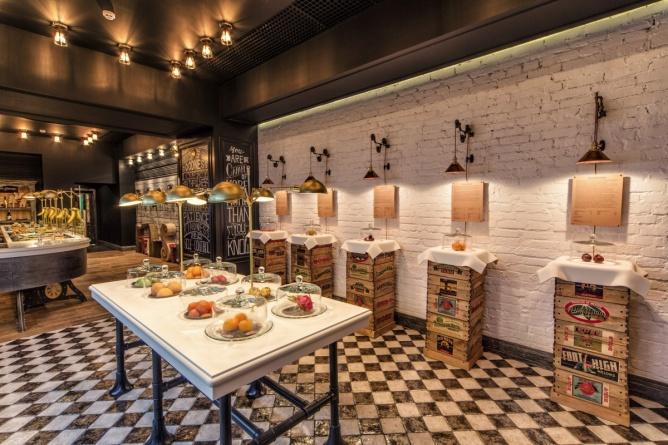 水果店装修设计|广州商业装修|三宏装饰