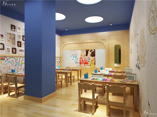 儿童教育机构装修-教室2