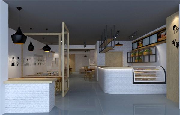 广州奶茶店装修设计|店铺商业装修|三宏装饰