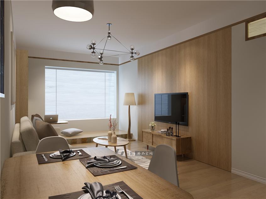 muji风格-天健上城公寓装修设计